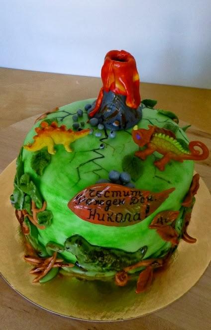 Cakesophia Dinosaur Cake