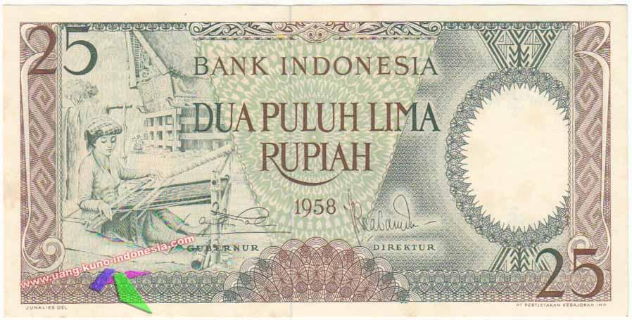 Kumpulan Uang Kuno Kertas Indonesia  sarahituaku