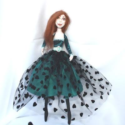 Myrtle Cloth Art Doll