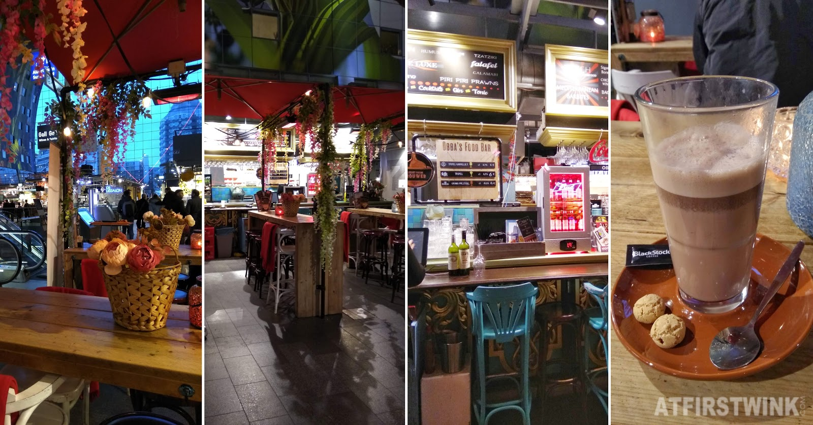 Obba's foodbar markthal Rotterdam chocolate milk