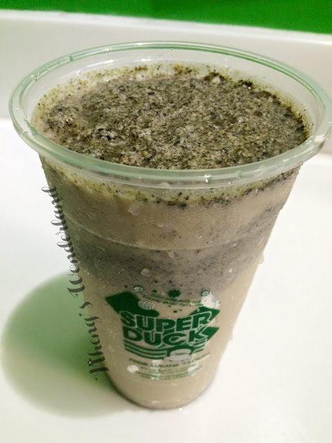 Super Duck Modern Tea Shop: Oreo Oolong Milk Smoothie