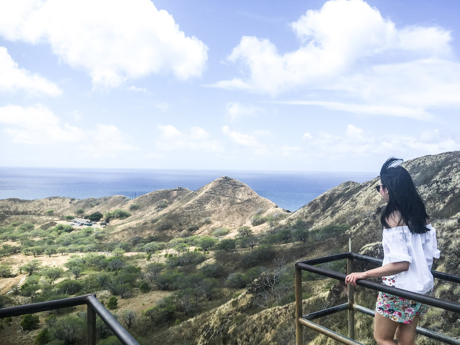 Diamond Head Hiking Honolulu Hawaii Travel Guide