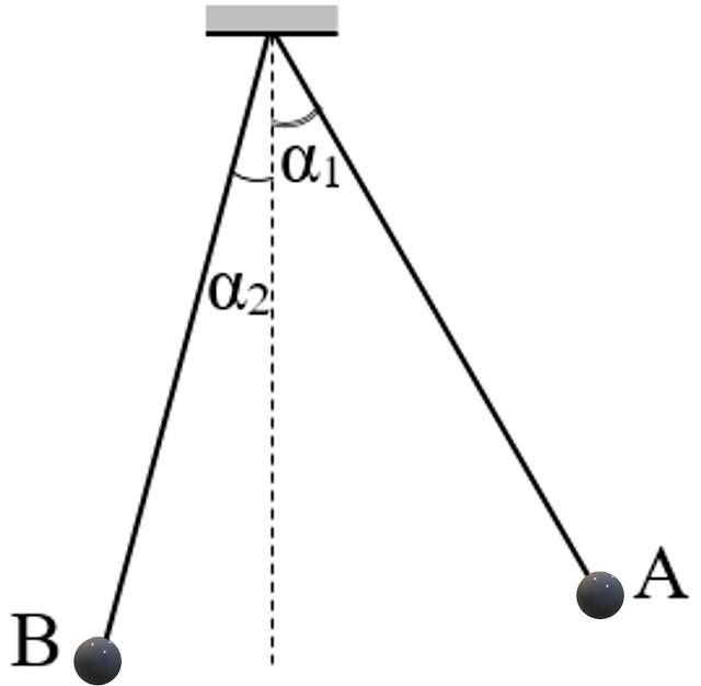 Hình ảnh minh họa câu 10 tracnghiem online Cơ năng và Lực của con lắc đơn