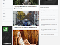 BLOGAMP - Valid AMP Responsive Blogger Template
