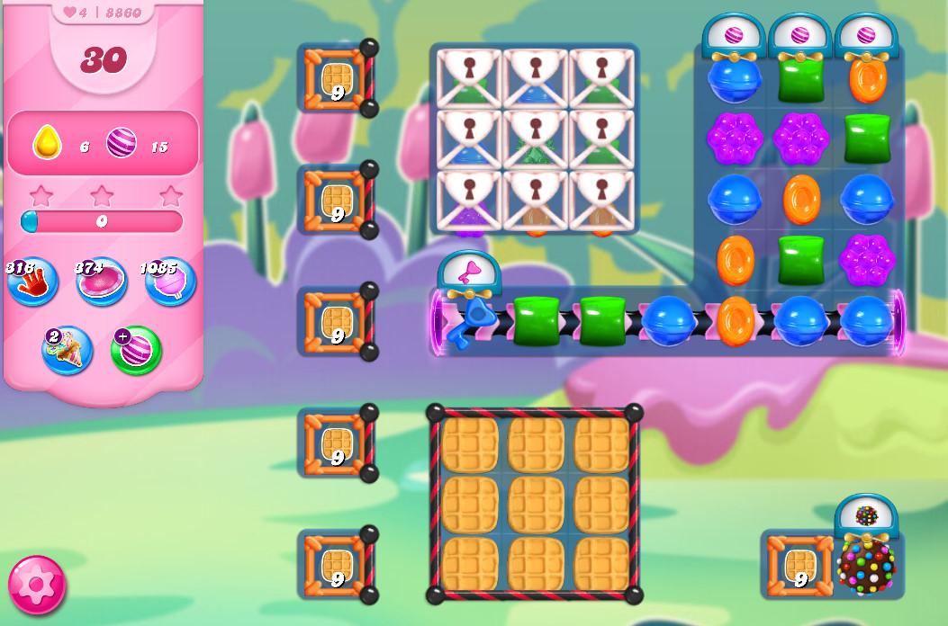 Candy Crush Saga level 8860