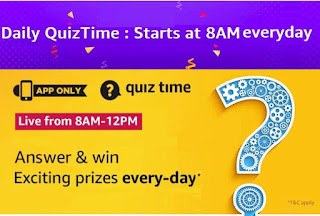 7th March Amazon Quiz