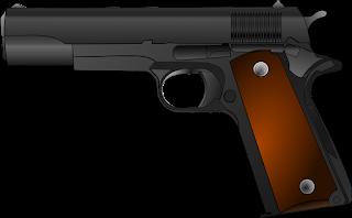 Foto de uma arma