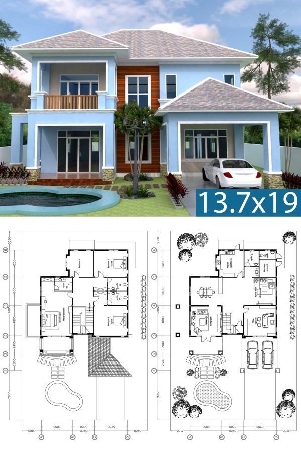 3 Bhk Home Villa Plan Best House Plan Design