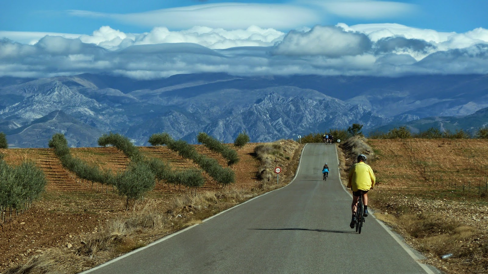 Road Cyclists will love biking in Granada, Andalucia and its Sierra Nevada
