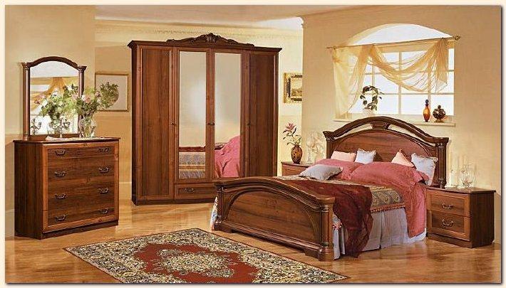 Art d co chambre a coucher bois nirgos - Lit en bois moderne pour adulte ...