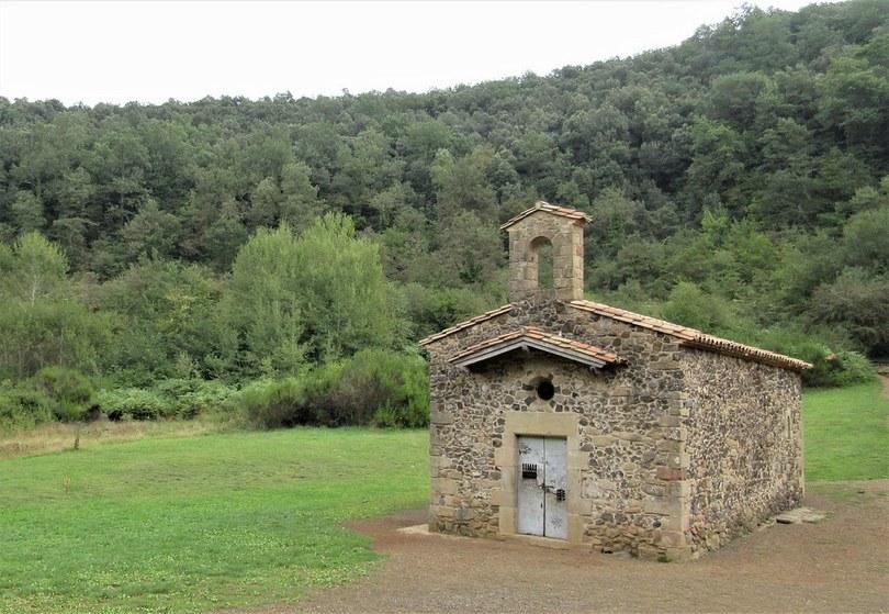 Crater Of  Santa Margarida, La Garrotxa, Girona, Spain