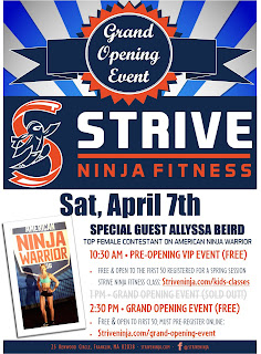 Strive Ninja Fitness - Grand Opening - April 7