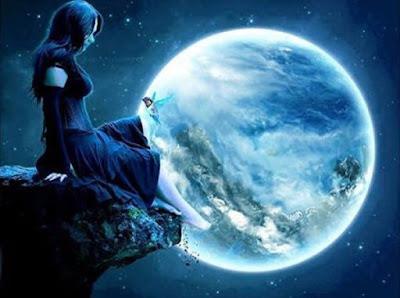 Une rencontre _ la Lune