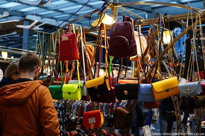 Leather Goods at Old Spitalfields Market