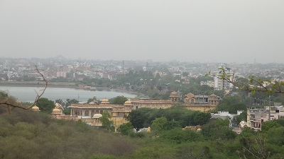 a view at kanak ghati garden
