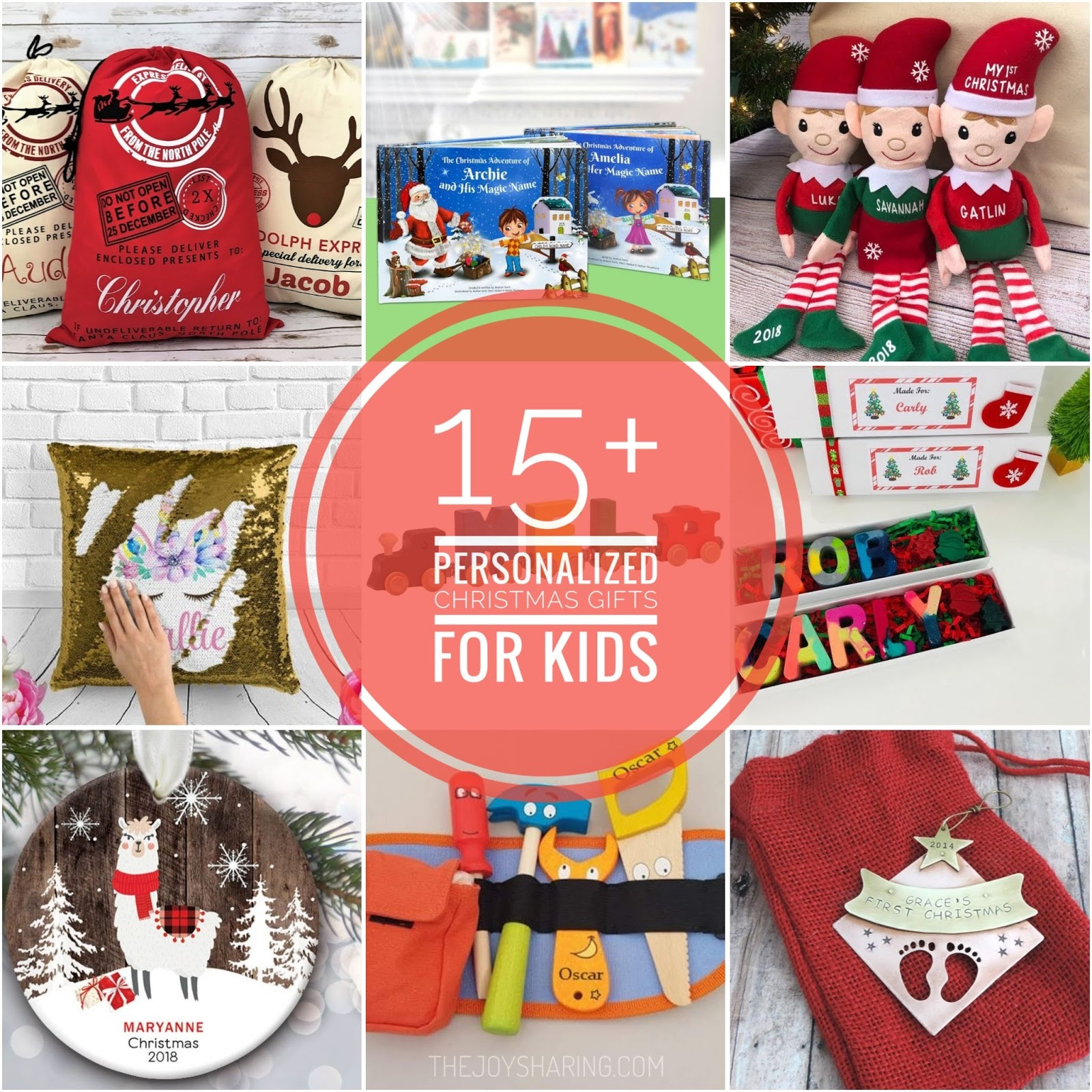 15+ Personalized Christmas Gifts for Kids - The Joy of Sharing