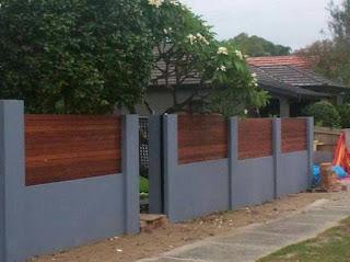 รั้วบ้านอิฐบล็อก