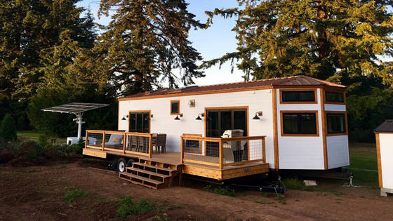 This Beautiful Tiny House On Wheels Is By Heirloom A Luxury Home Builder Based In Portland Oregon