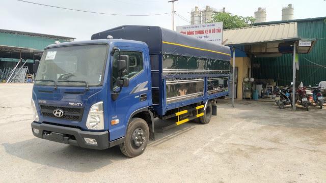 Giá lăn bánh Hyundai EX6 thùng bạt