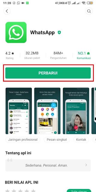 Cara Memperbarui Whatsapp yang Kadaluarsa 5
