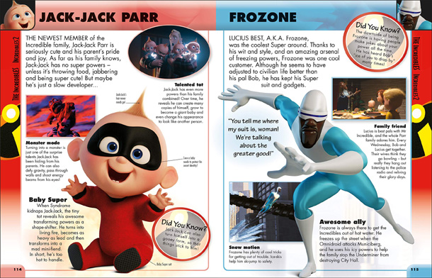 Disney Pixar Character Encyclopedia New Edition - 3