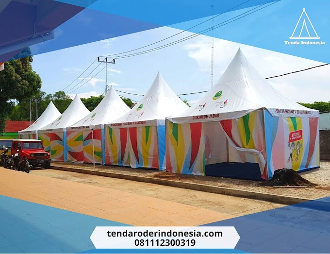 Jual Tenda Sarnafil, Tenda Drive Thru Rapid Test | Menara Matahari Lippo Karawaci 081112300319