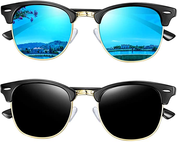 50%OFF on Semi Rimless Polarized Sunglasses