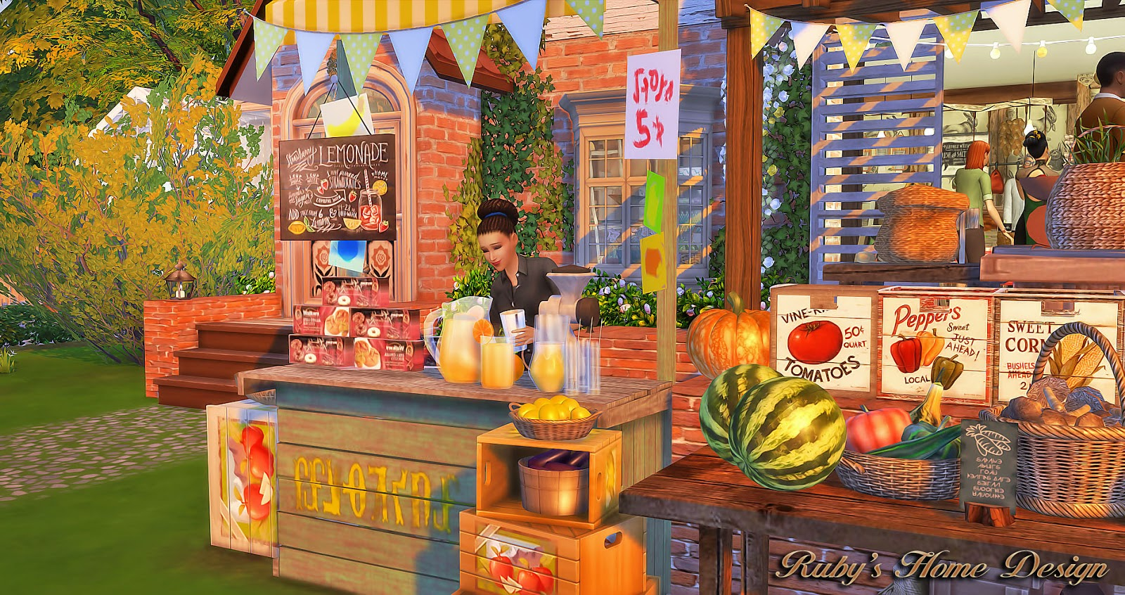 House Design Games Like Sims Sims 4 Farmer S Market 農莊的小市場 No Download Link Ruby S