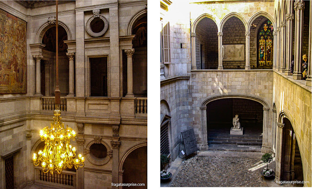 Átrio e pátio da Casa de la Ciutat, Barcelona