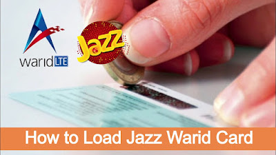 How to load jazz card - jazz warid card load code