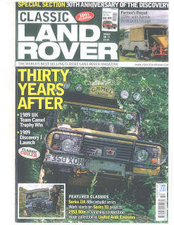 Classic Land Rover Oct2019 Issue
