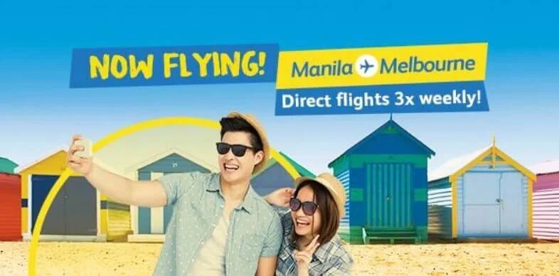 Cebu Pacific Opens Direct Flights to Melbourne