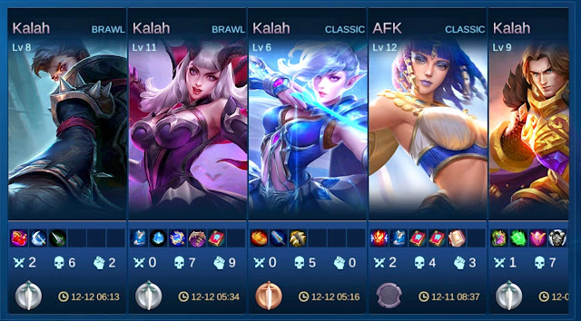 kalah main mobile legends