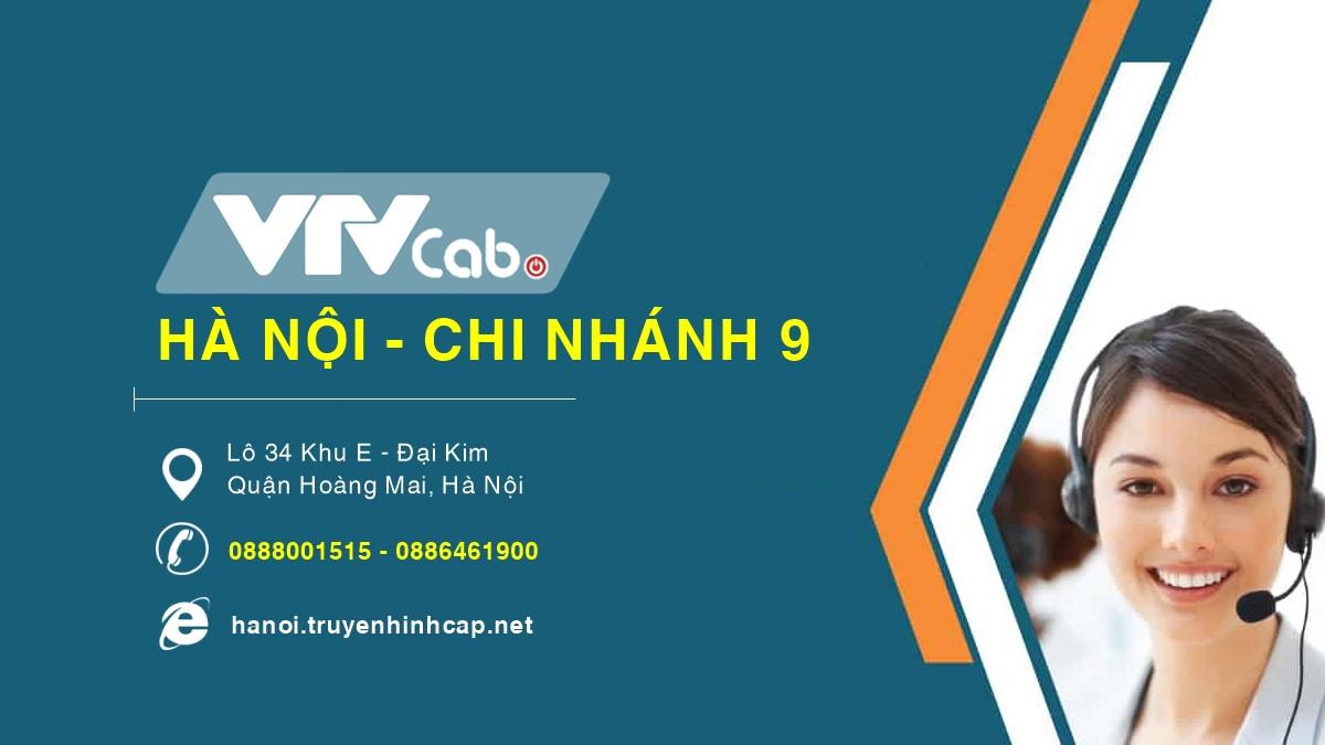 VTVCab Hà Nội chi nhánh 9