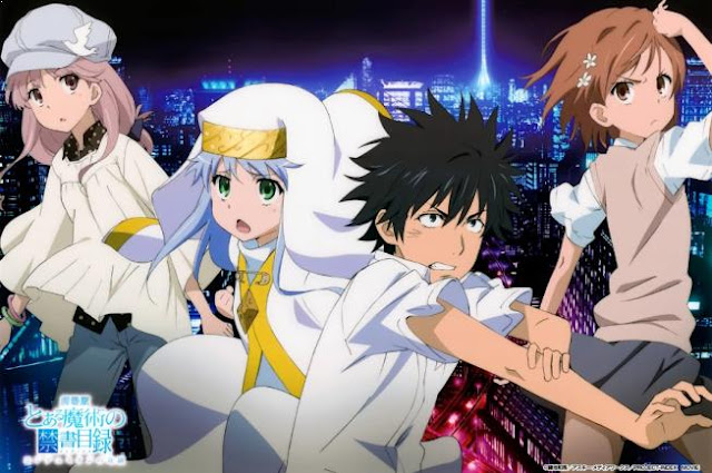 Anime Magic School Romance Terbaik - Toaru Majutsu no Index