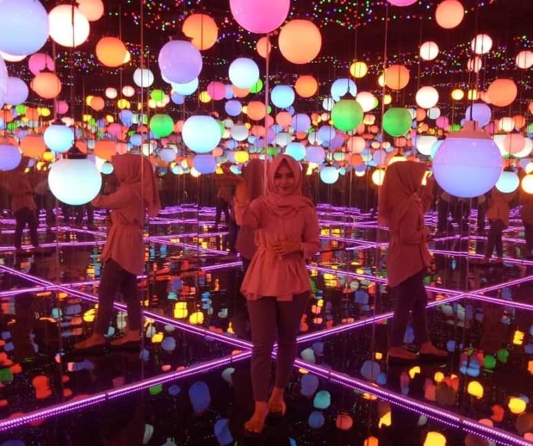 tempat wisata hits di bandar lampung, lampung walk