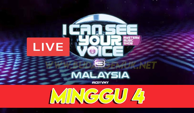 [LIVE] I Can See Your Voice Malaysia 3 Minggu 4 (8.3.2020)
