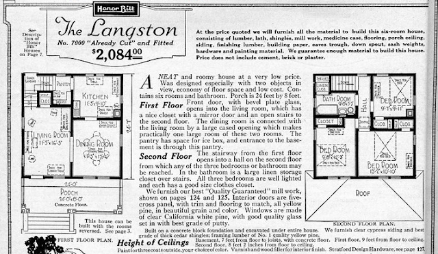 Sears Langston floor plan