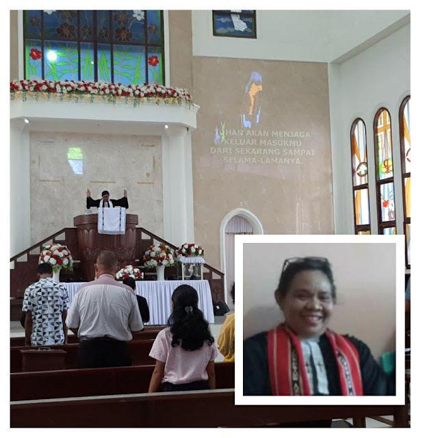 Anche Sabono Minta Umat Kristiani Tanimbar Hidup Bersukacita