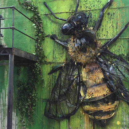 Strongbow e Bordalo II mexem com a Natureza