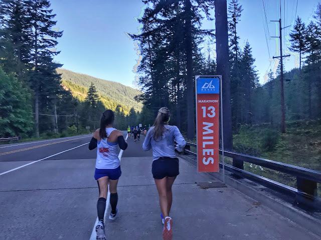 Revel Mt. Hood 13 mile mark