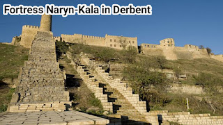 Fortress Naryn-Kala in Derbent