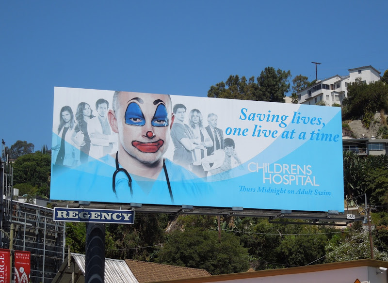 Childrens Hospital season 4 billboard