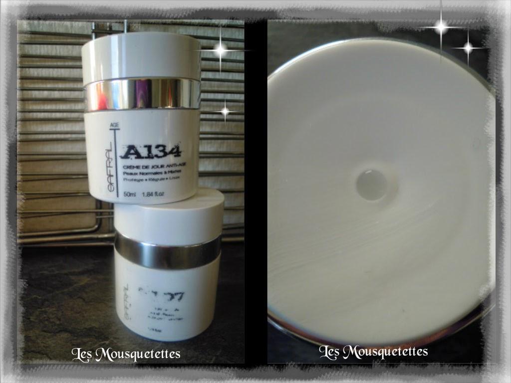 Packaging de la gamme anti-âge de Safral - Les Mousquetettes©