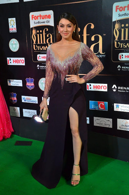 Hansika Motwani At The IIFA Utsavam Awards 2017