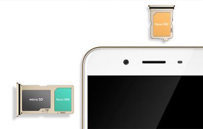 Dual SIM + Slot Micro SD