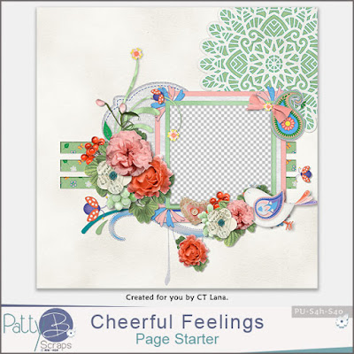 New - Cheerful Feelings Collection by PattyB Scraps