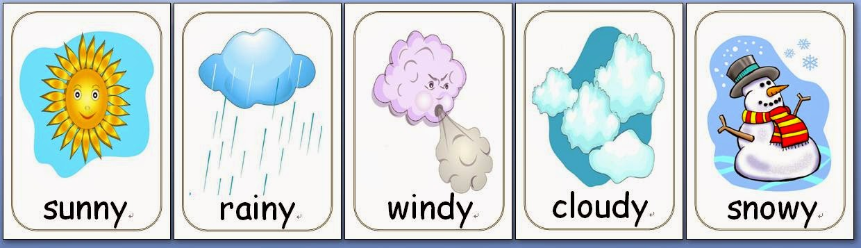 teacher perfect esl flashcards weather vocabulary