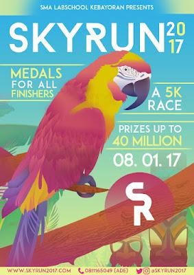 Lomba Lari SKYRUN 2017 by SMA LabSchool Kebayoran Hadiah Total 40 Juta