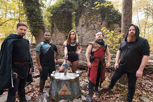 Το συγκρότημα Master Sword